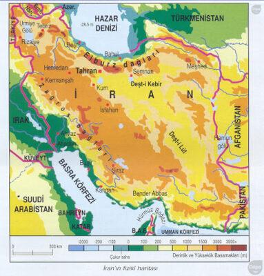 iran-cografi-harita