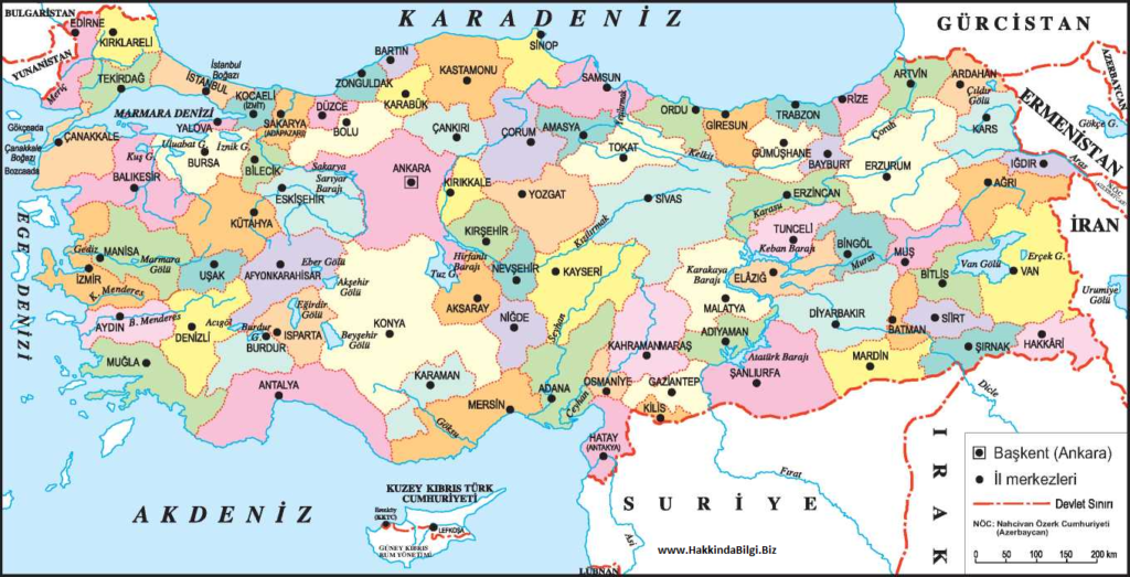 türkiye-harita
